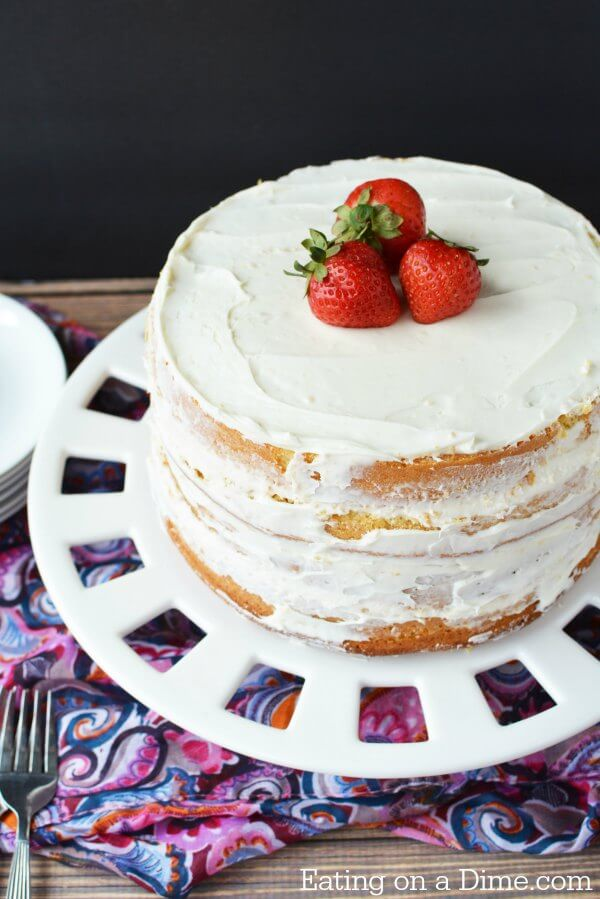 Homemade Vanilla Cake Recipes From Scratch Easy