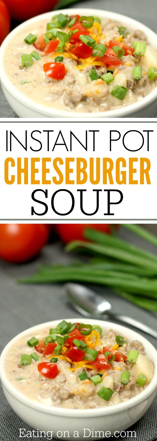 Learn how to make the Best Cheeseburger Soup Recipe.This Instant Pot Cheeseburger Soup Recipe is so easy. Pressure Cooker Hamburger Soup Recipe is the best.