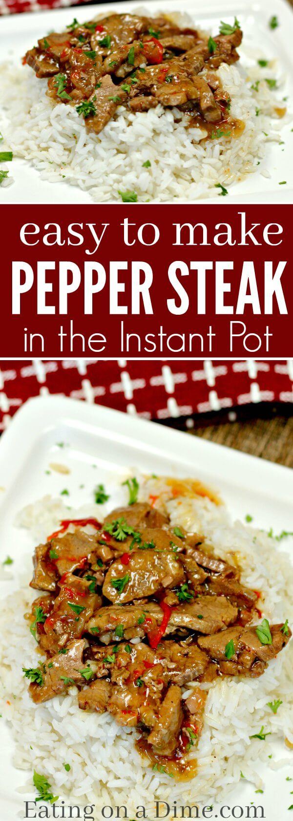 Instant Pot Chinese Pepper Steak Recipe Simple And Delicious