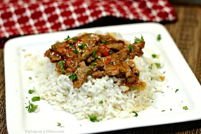 Instant Pot Chinese Pepper Steak Recipe Simple And