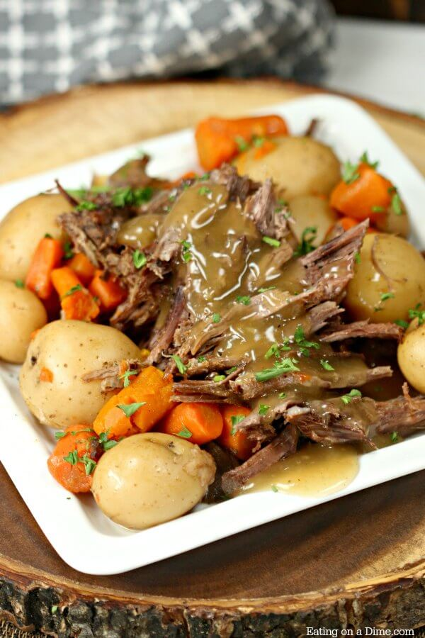 The Best Crock Pot Roast Recipe Easy Crock Pot Roast Recipe