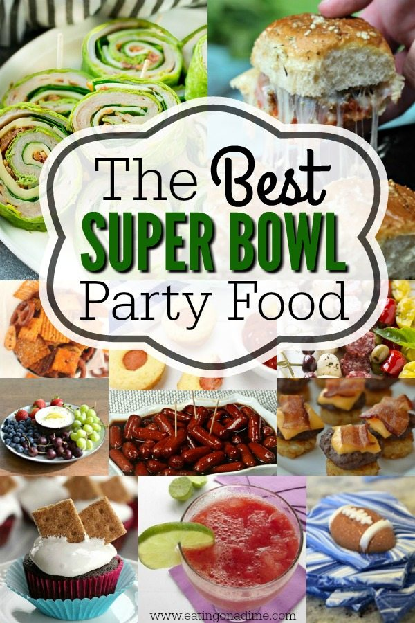 Find Tons Of Super Bowl Party Food Menu Ideas 75 Recipes To Feed