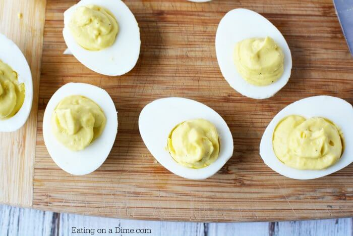 Once you try the Best Deviled Eggs Recipe, you will love it! This easy Deviled Eggs recipe is packed with flavor. You will love this simple deviled eggs recipe. It is the best deviled eggs recipe around!