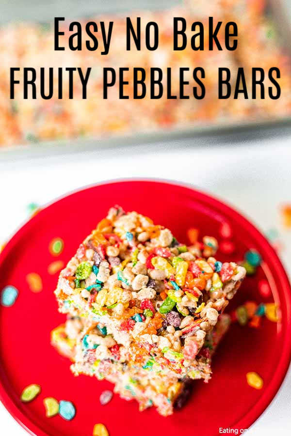 Mix up a batch of Fruity Pebble Treats and your kids will go crazy! These easy to make treat bars are always a hit. Plus, they are easy and cheap to make.