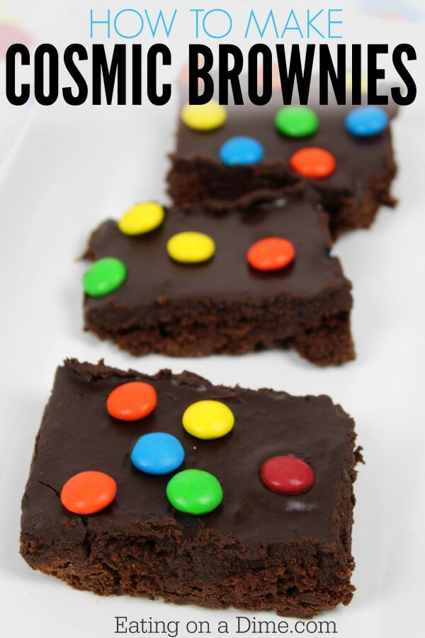 Copycat Cosmic Brownies Recipe Cosmic Brownie Recipe