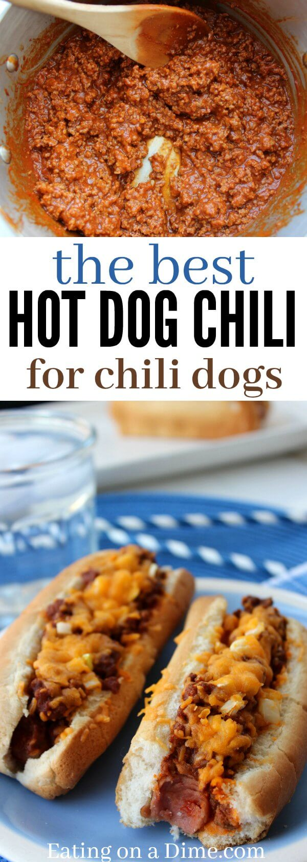 Quick And Easy Homemade Hot Dog Chili