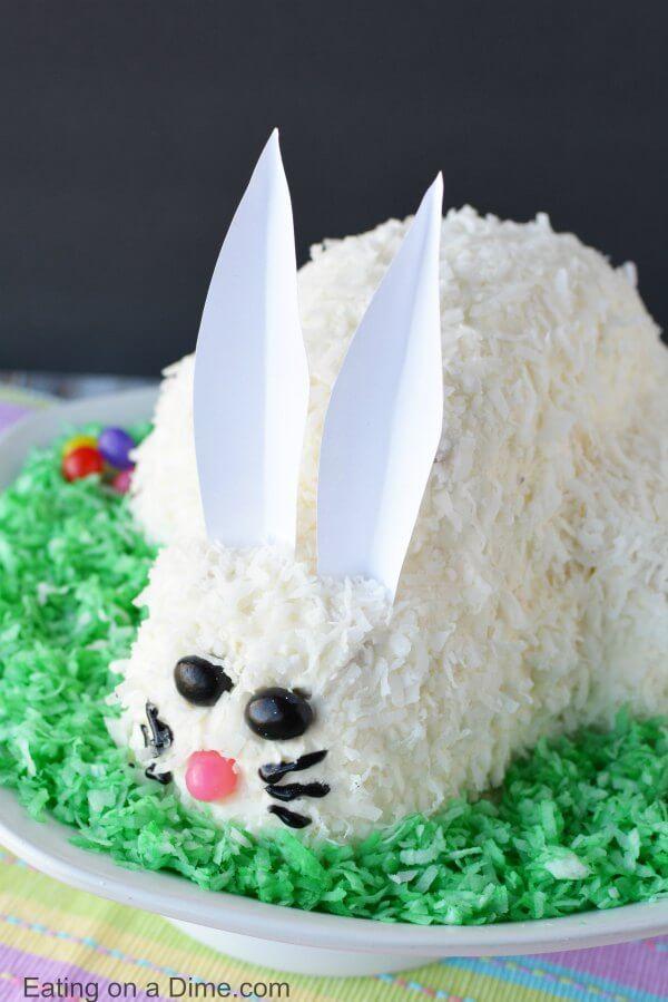 Easter Bunny Cake Easy Bunny Cake Recipe Everyone Will Love