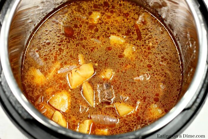 Instant pot Steak and Potatoes Beef Stew recipe is so quick and easy. This Beef stew with potatoes is so tender. Try this easy Steak and Potatoes stew.