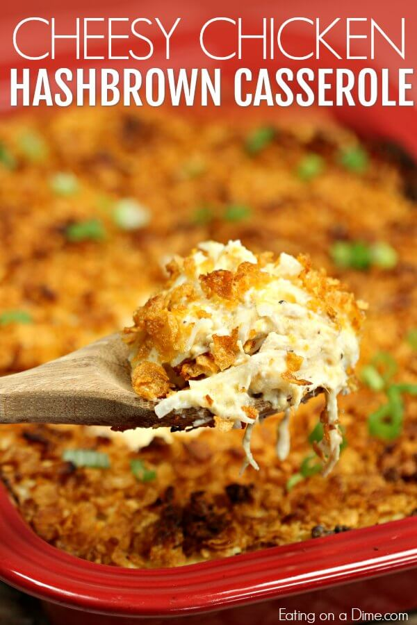Chicken Hashbrown Casserole Recipe Easy Casserole Recipe