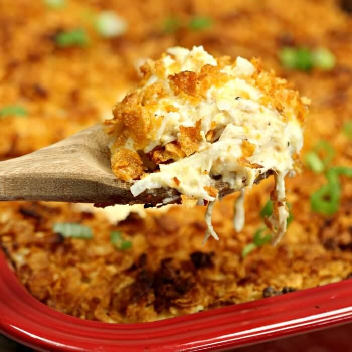 Chicken Hashbrown Casserole Recipe