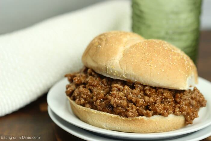 Instant pot sloppy joes recipe is so quick and easy! The flavor is amazing and dinner comes together so fast! Try Sloppy Joes Pressure cooker recipe for a yummy dinner idea. The entire family will love this Easy sloppy joes instant pot recipe!