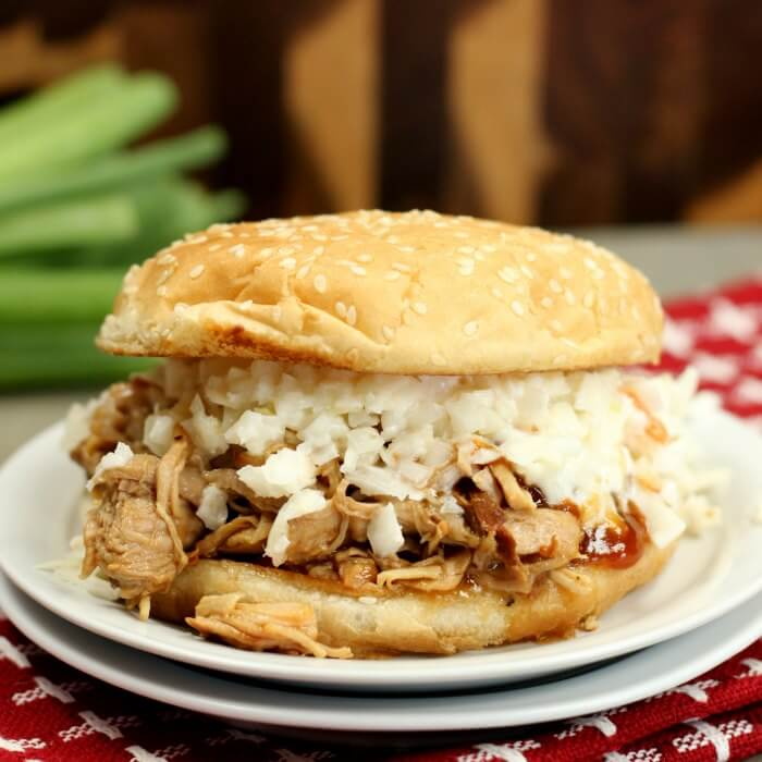 Try this Crock pot Pulled Pork Sandwich Recipe for a delicious and quick dinner idea. Crock pot pulled pork recipe is tender and packed with flavor! The sauce is tangy and so good! Your family will love pulled pork crock pot recipe. It is the best pulled pork sandwiches! Make Pulled pork sandwiches slow cooker today!
