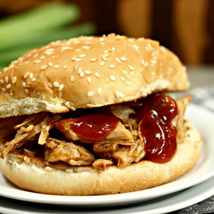Instant pot pulled pork recipe is a family favorite. Easy pulled pork is so simple to make and also perfect for parties. The barbecue sauce is tangy and delicious. Try this Instant pot BBQ pulled pork recipe! Pulled pork instant pot recipe will be a hit with the entire family!