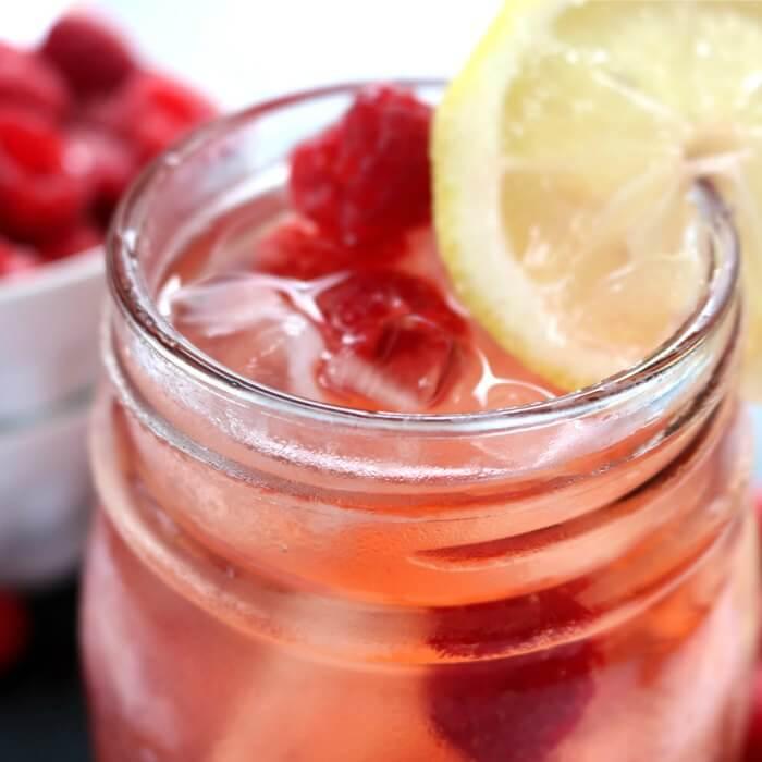 Raspberry Iced Tea Recipe - How to make