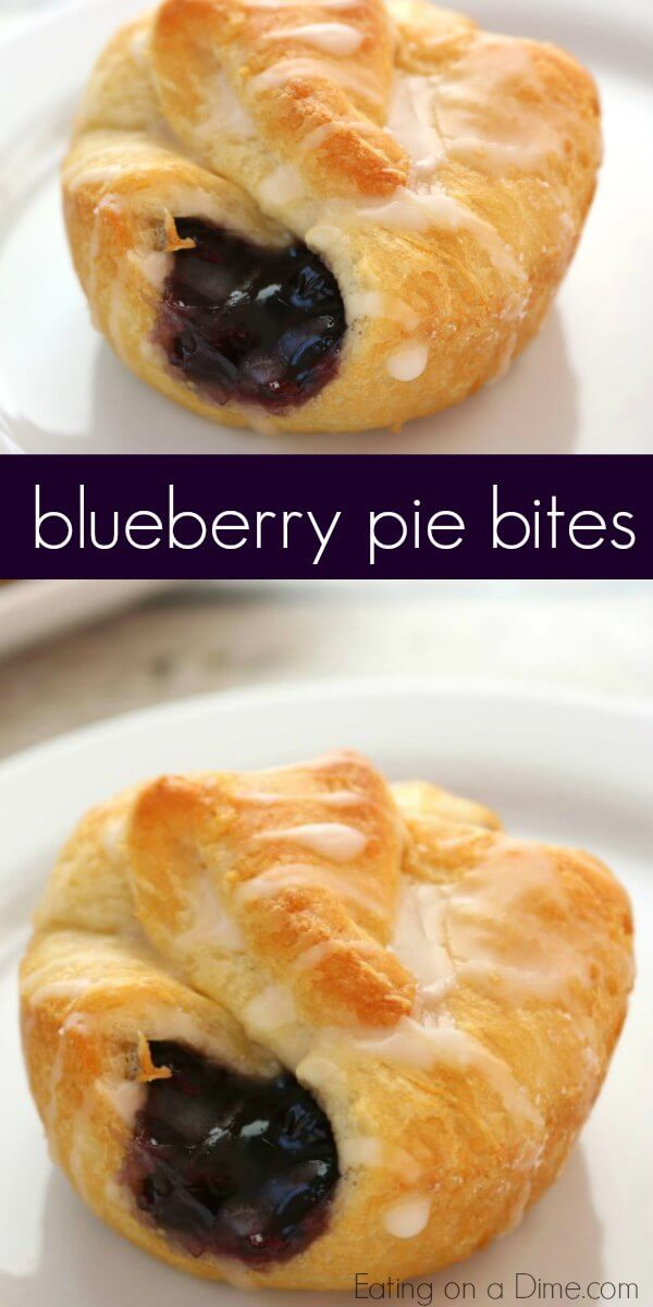 Blueberry pie bites are so easy to make. These taste amazing and take only minutes to make. Next time you want blueberry pie, try mini blueberry pie bites. Yum! Mini blueberry pie recipe is the best lazy day recipe. You will love this Blueberry pie recipe without all the work. It is such an easy blue berry pie recipe.