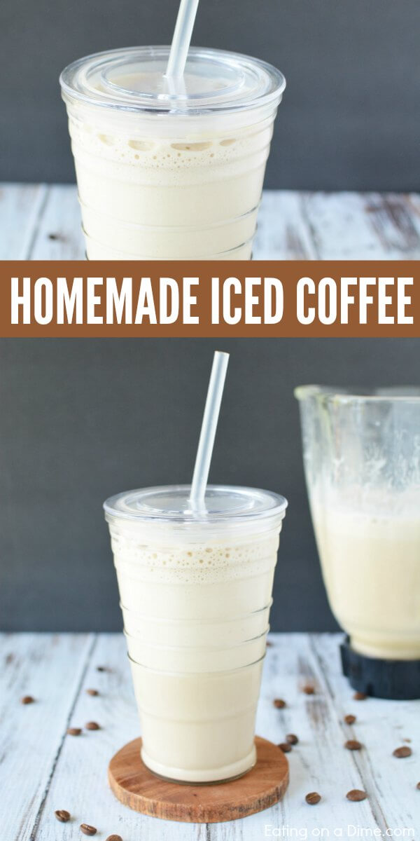 Coffee lovers will enjoy this easy Homemade iced coffee recipe. Cold coffee recipe is easy to make at home. Iced coffee recipe is creamy and tasty!