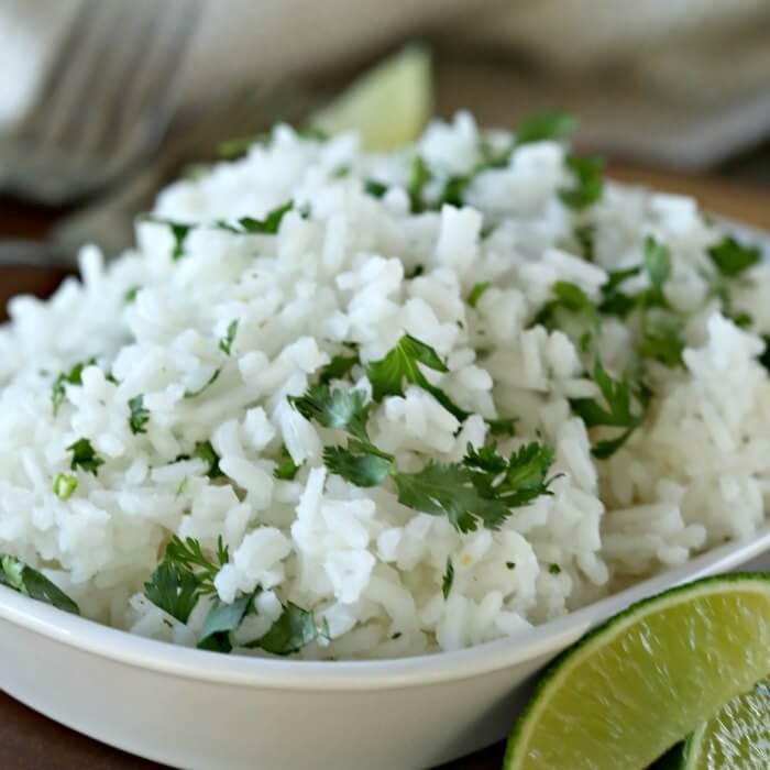 Try this easy instant pot Cilantro lime rice recipe. Cilantro lime rice pressure cooker recipe is so quick.Cilantro lime rice instant pot recipe is a hit!
