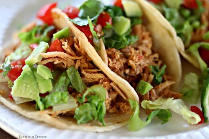 You only need 4 ingredients to make Instant pot pulled pork tacos recipe. Everyone will enjoy pulled pork tacos. Try Pressure Cooker shredded pork tacos.