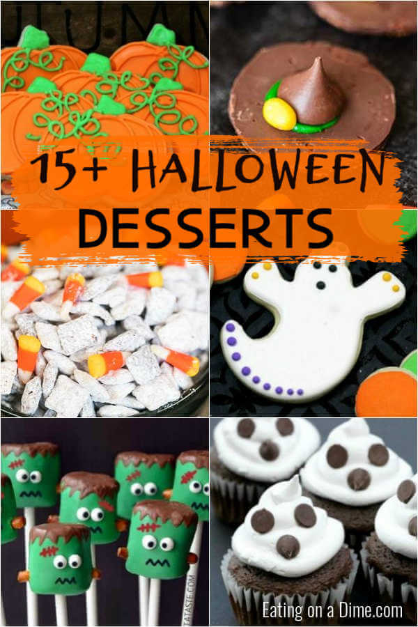 Easy Halloween Desserts For Kids Easy Halloween Desserts