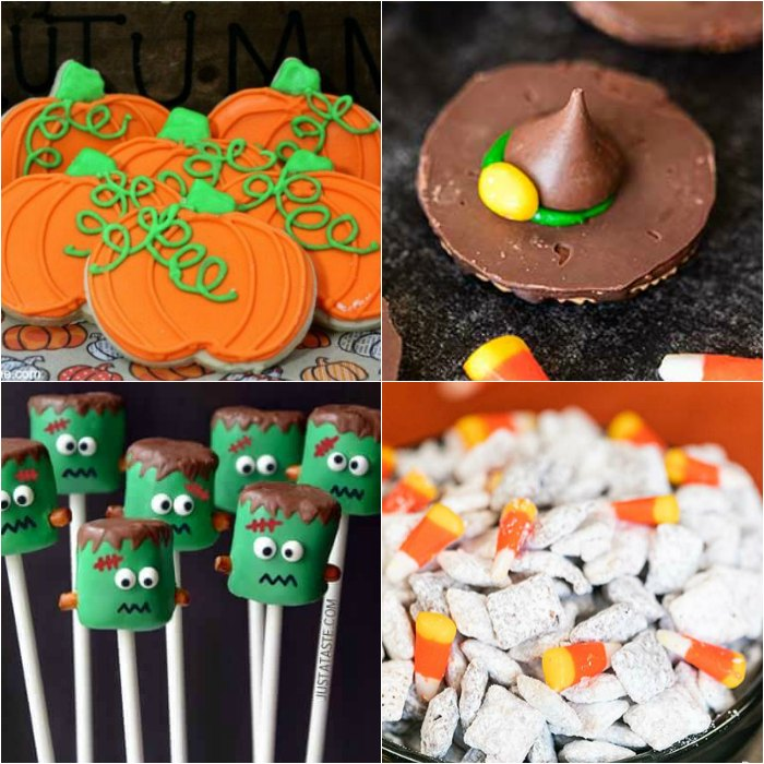 You have to try one of these easy halloween desserts for kids this year. I know your kids and even adults will love one of these fun Halloween desserts that are perfect for parties. These easy simple desserts are great for schools and kids can make these desserts too. Some even include Oreos! #eatingonadime #halloweendesserts #dessertrecipes