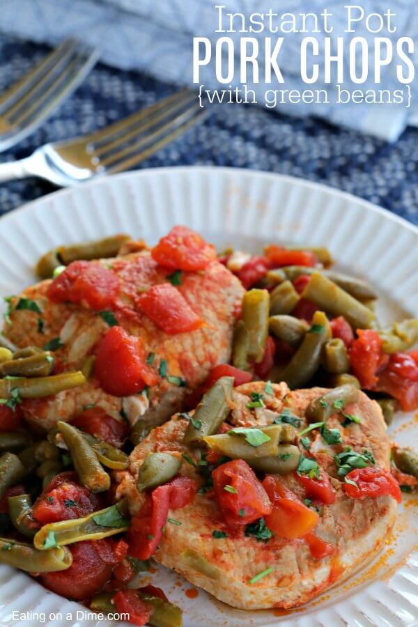 Everyone will love Instant Pot Pork Chops dinner. These Keto Pork Chops make such an easy keto dinner. It is an easy keto recipe that is packed with flavor!