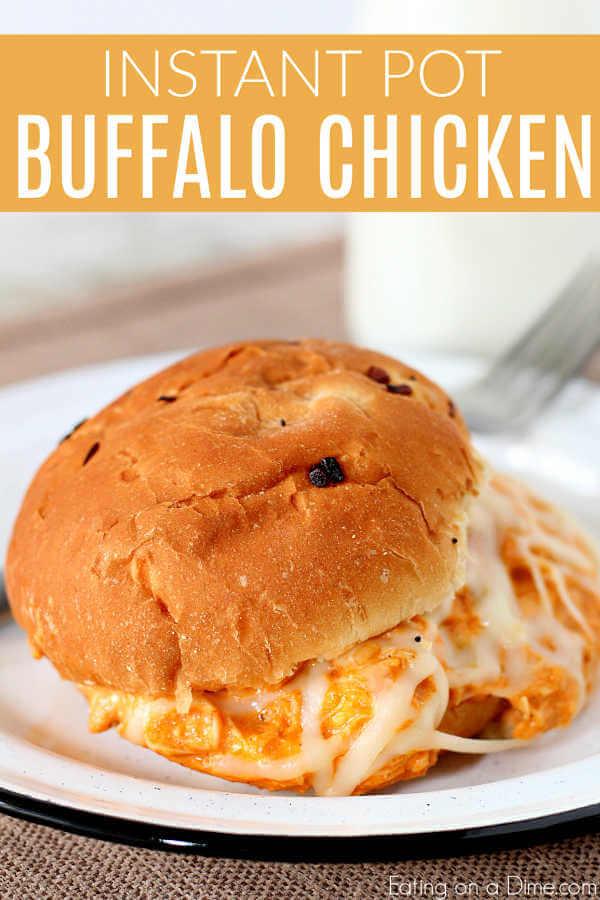 Enjoy Instant Pot Buffalo Chicken Sliders Recipe when you're craving buffalo wings but not all the work. Try Buffalo Chicken Sliders Instant Pot recipe.