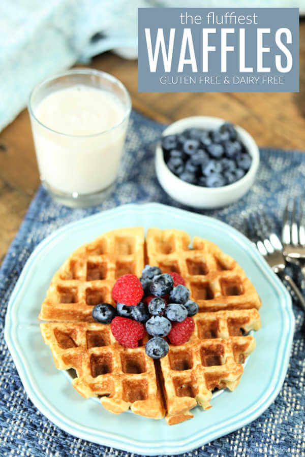 Gluten Free Waffle Recipe Light And Fluffy Gluten Free Waffles
