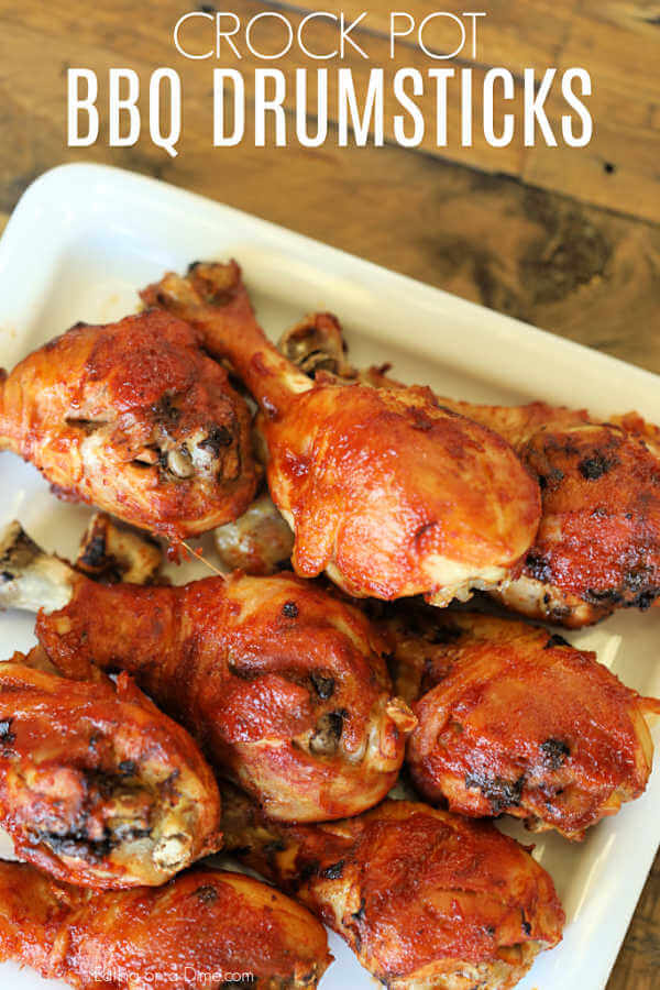 Crock Pot Chicken Drumsticks Only 5 Ingredients