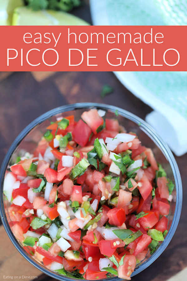 Easy Pico De Gallo Recipe The Best Pico De Gallo Recipe