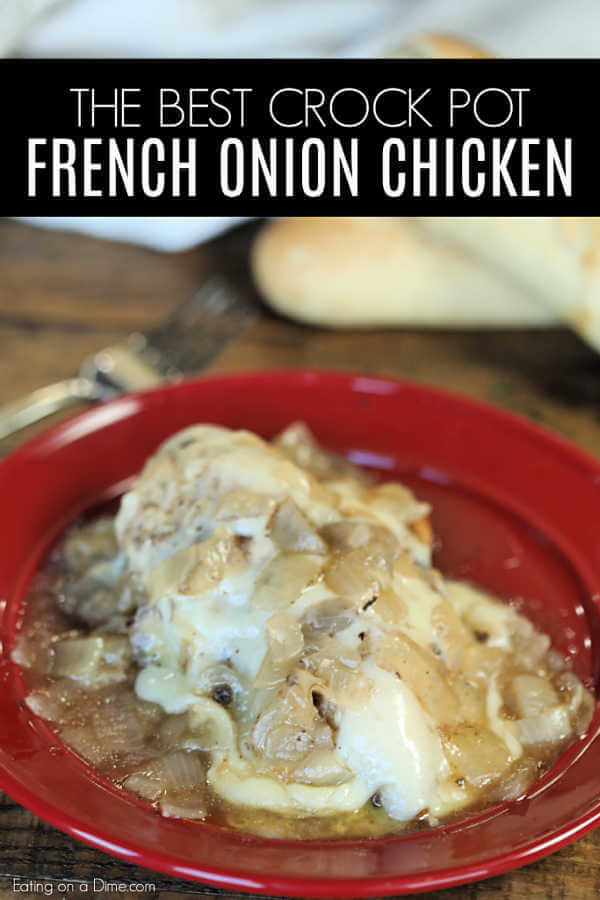 Crock Pot French Onion Chicken Recipe Easy French Onion Chicken