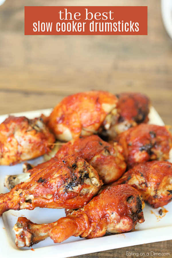 Dinner is a breeze with BBQ Chicken Legs Crock Pot Recipe. Try Crock Pot Chicken Drumsticks for parties, game day and more for a delicious meal idea.