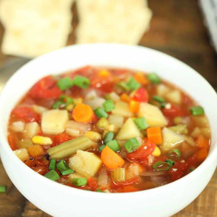 Delicious Soup Ready In Minutes