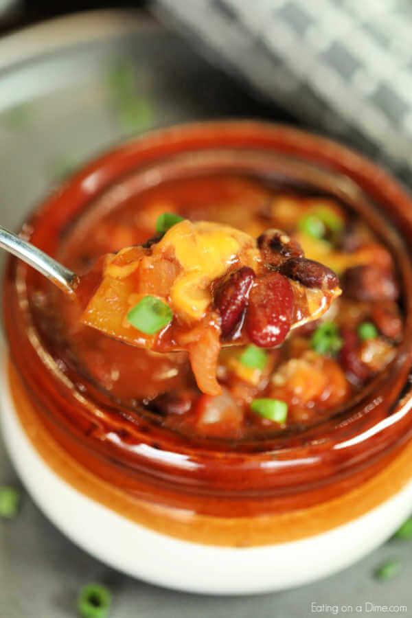 Crock Pot Vegetarian Chili The Best Vegetarian Chili