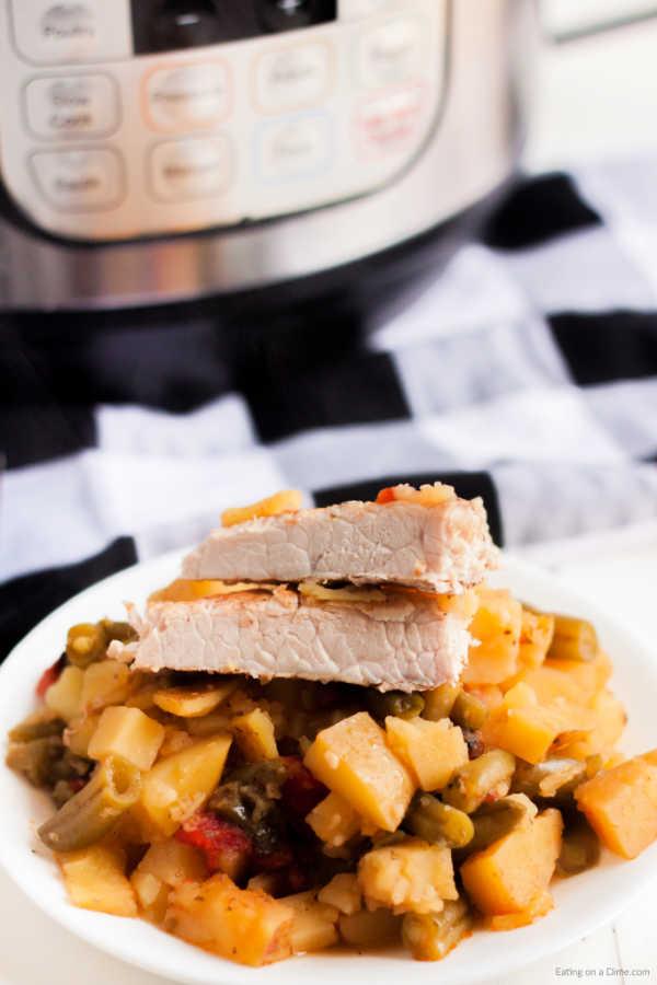 Instant Pot Italian Pork Chops Recipe Easy Instant Pot