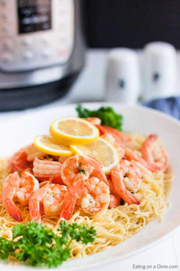 instant pot shrimp scampi recipe  instant pot shrimp