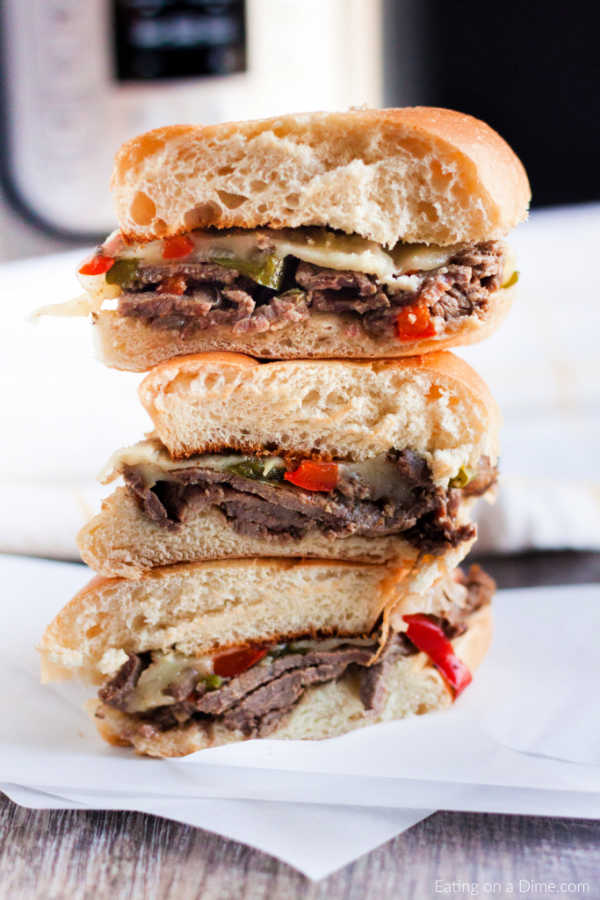 You can enjoyInstant Pot Philly Cheesesteak recipe for an easy dinner during busy weeknights. The pressure cooker gets this meal on the table in minutes.