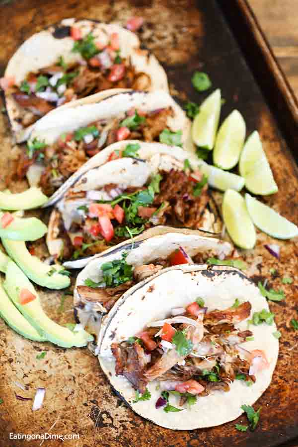 Try authentic Slow Cooker Pork Carnitas Recipe for a meal that is tasty and easy. From tacos and burritos to salads and more, this pork is sure to impress.