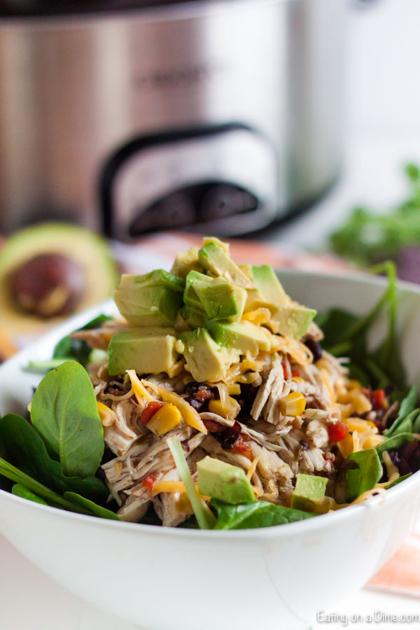 Crock Pot Santa Fe Chicken Salad Healthy Chicken Crockpot Recipes