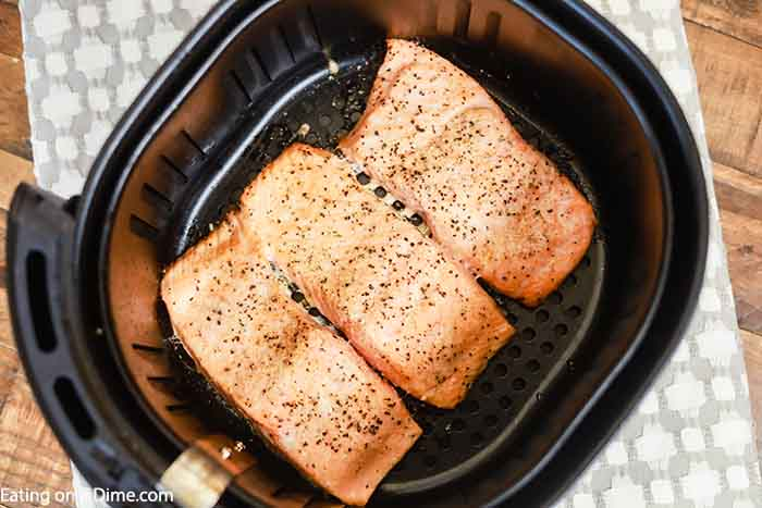 Air Fryer Salmon Recipe - Quick and Simple Salmon Recipe