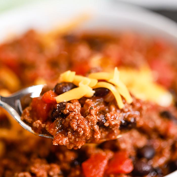 Take chili to the next level when you make Crock Pot Chipotle Chili Recipe. Lots of chipotle peppers, adobo sauce and more come together for a great meal.