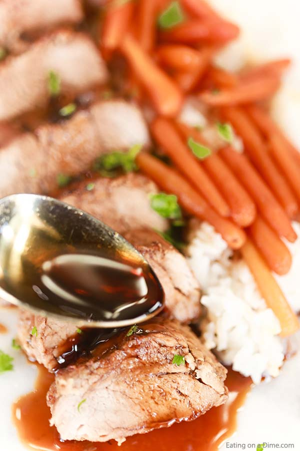 Make this easy Crock Pot Teriyaki Pork Tenderloin Recipe that is perfect for family dinner but tasty enough for company. Everyone will love this recipe.