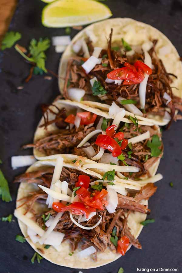 Try Slow Cooker Beef Carnitas Recipe for a meal sure to impress. There are tons of options for this easy beef carnitas recipefrom tacos. salads and more.