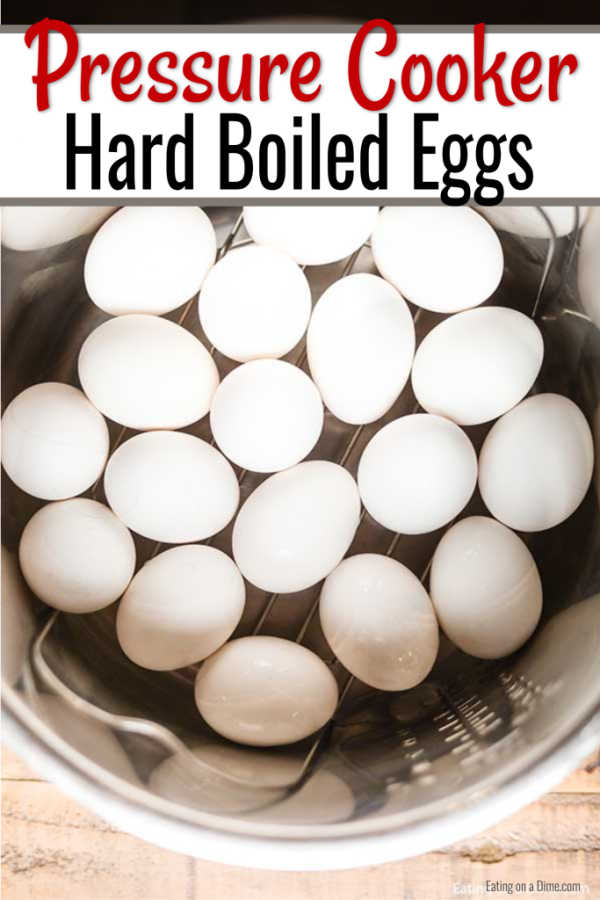 Instant Pot Hard Boiled Eggs are so easy and you can do a bunch at once. This is so convenient for meal planning and makes the entire week a breeze.