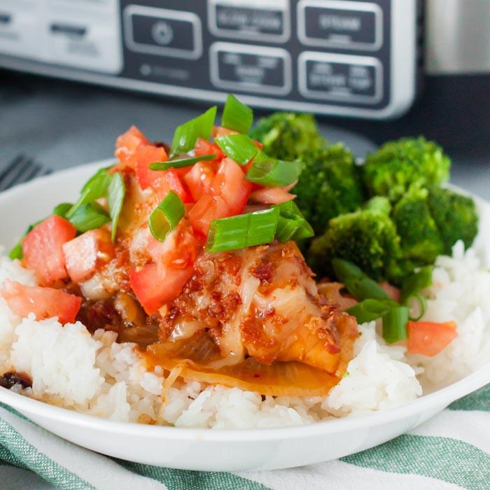 monterey chicken with rice