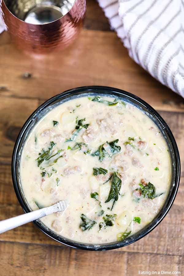 Crock Pot Zuppa Toscana Recipe is so tasty and the crockpot makes it simple. If you love Olive Garden's Zuppa Toscana, you are going to really enjoy this.