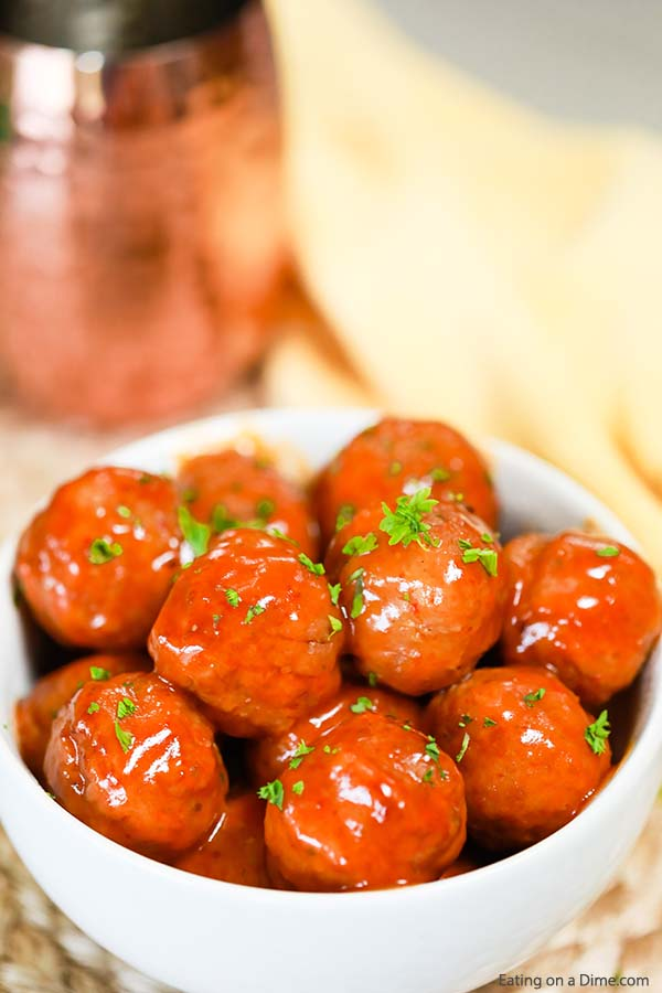 Enjoy lots of flavor in this Crock Pot Honey Buffalo Chicken Meatballs recipe. With just a few ingredients, this meal is perfect for Game Day and more.