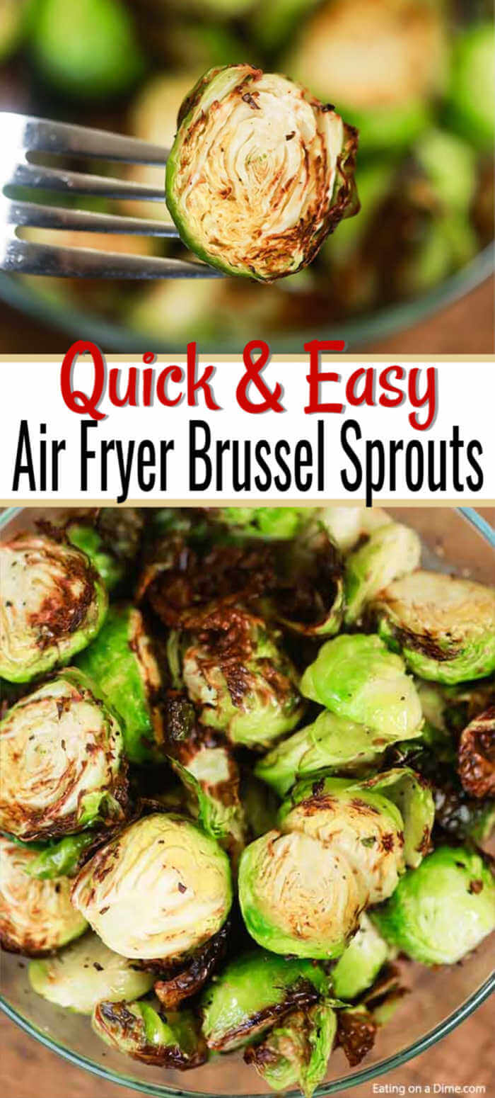 Air Fryer Brussel Sprouts Recipe Tasty Brussel Sprouts