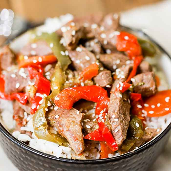 Instant pot beef stir fry makes it so easy to enjoy a delicious meal even during busy weeknights. Make this meal in minutes for a great dinner idea.