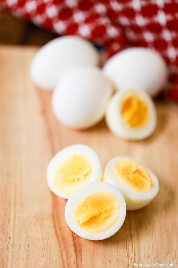 You can easily learn how to make Air fryer hard boiled eggs in minutes. This is a great way to make several at once with very little work. Give this a try!