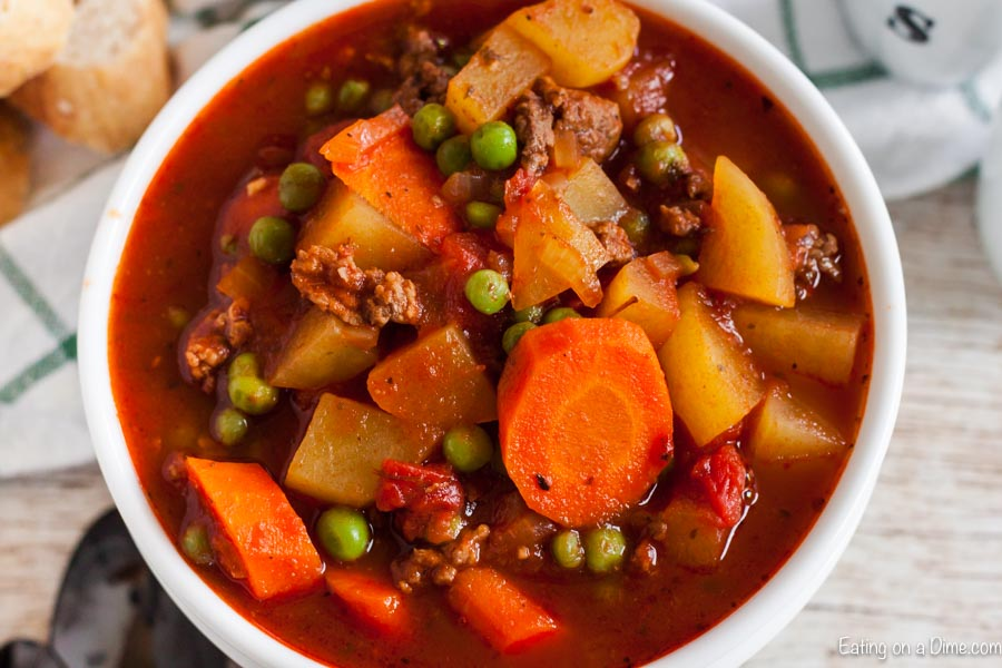 Try making beef stew with ground beef with this easy and tasty Instant Pot Ground Beef Stew Recipe. This is a nice change and takes just minutes to prepare.